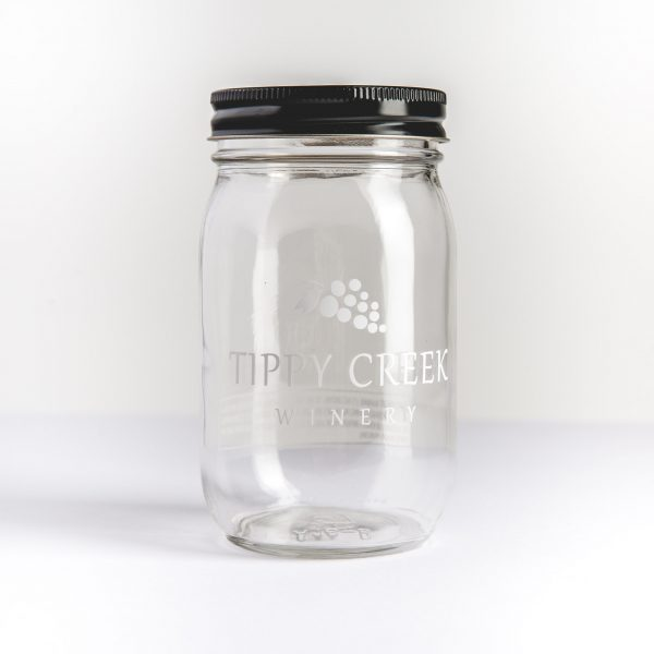 Tippy Creek Winery Mason Jar