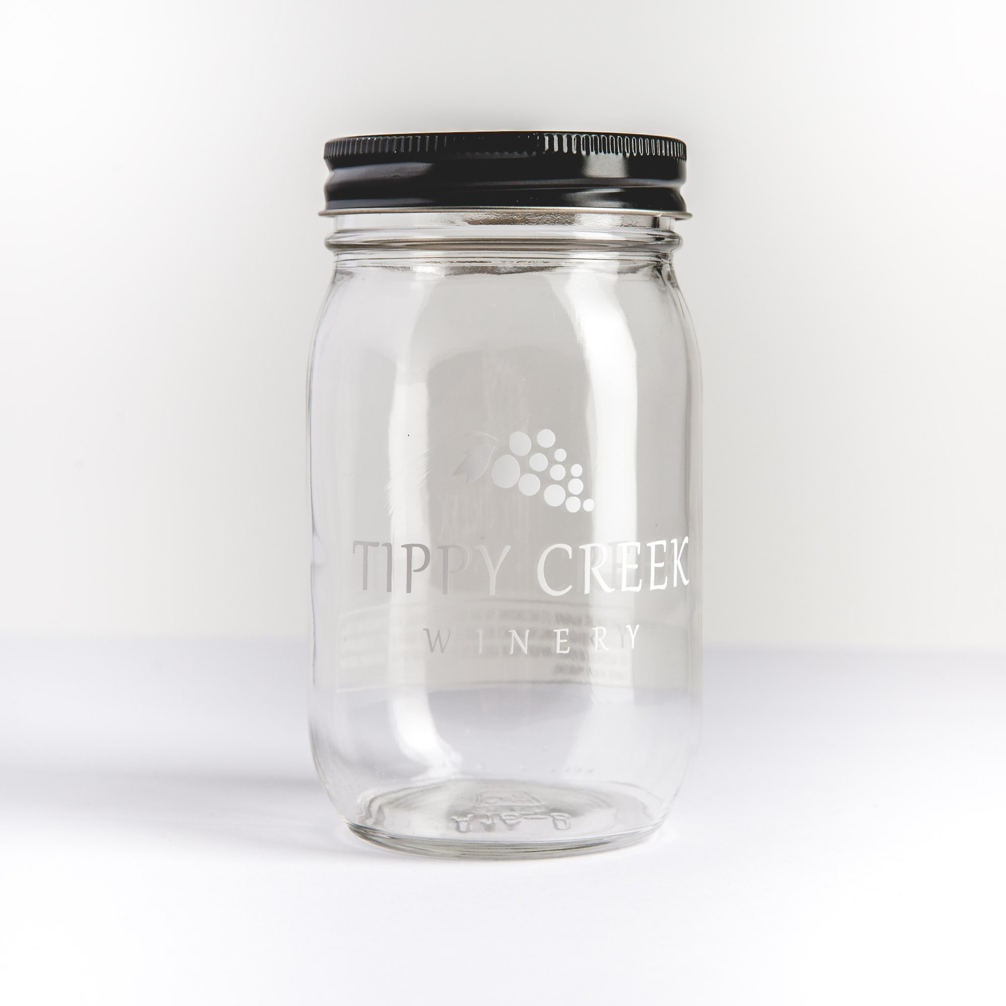 Tippy Creek Winery Mason Jar