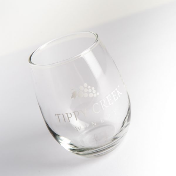 Tippy Creek Winery Wine Glass