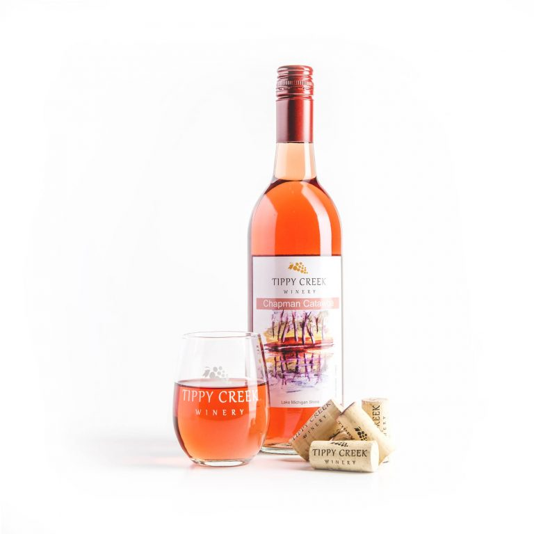 Chapman Catawba White Wine Tippy Creek Winery