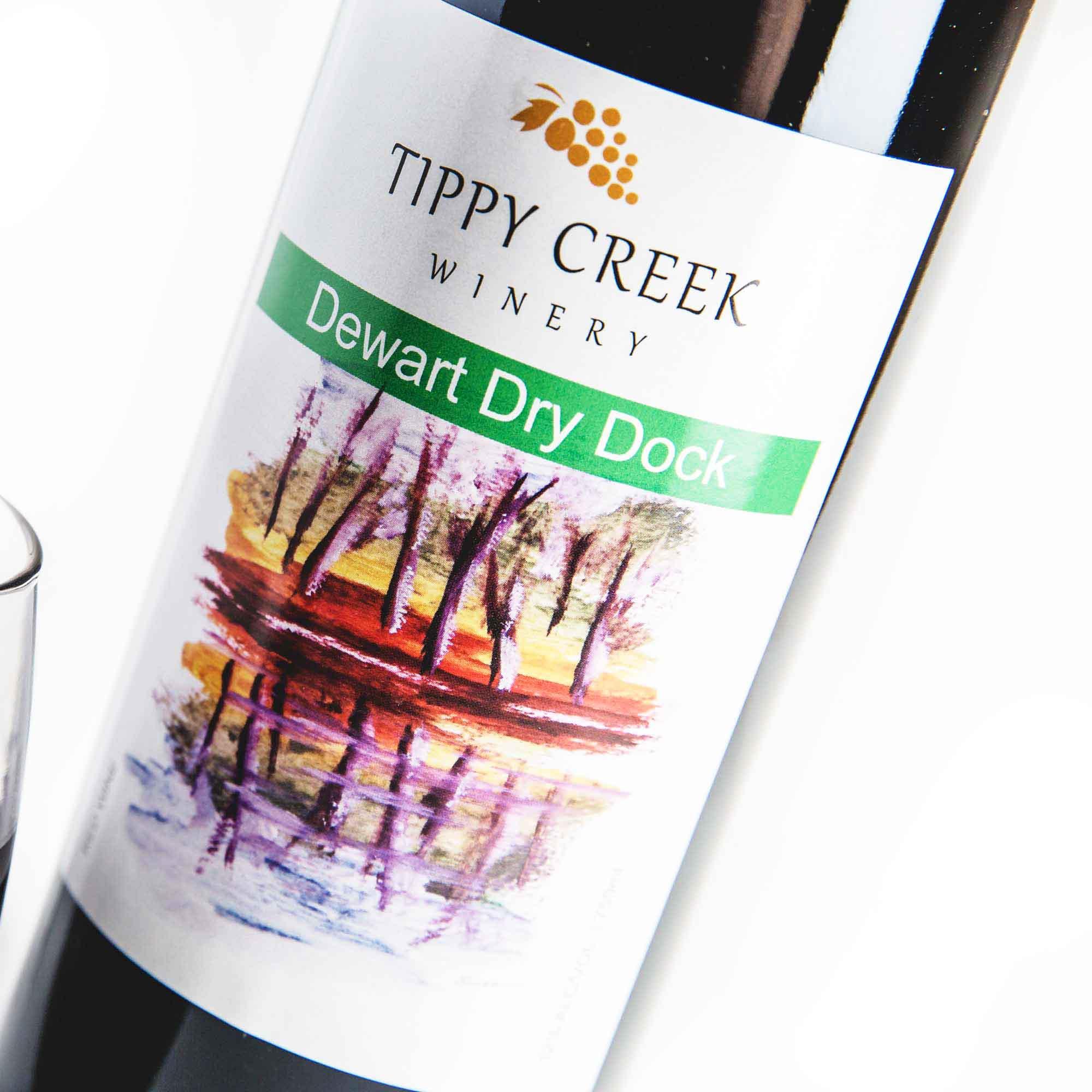 Dewart Dry Dock Red Wine Tippy Creek Winery