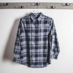 Tippy Creek Winery Long Sleeve Plaid Button Up Shirt