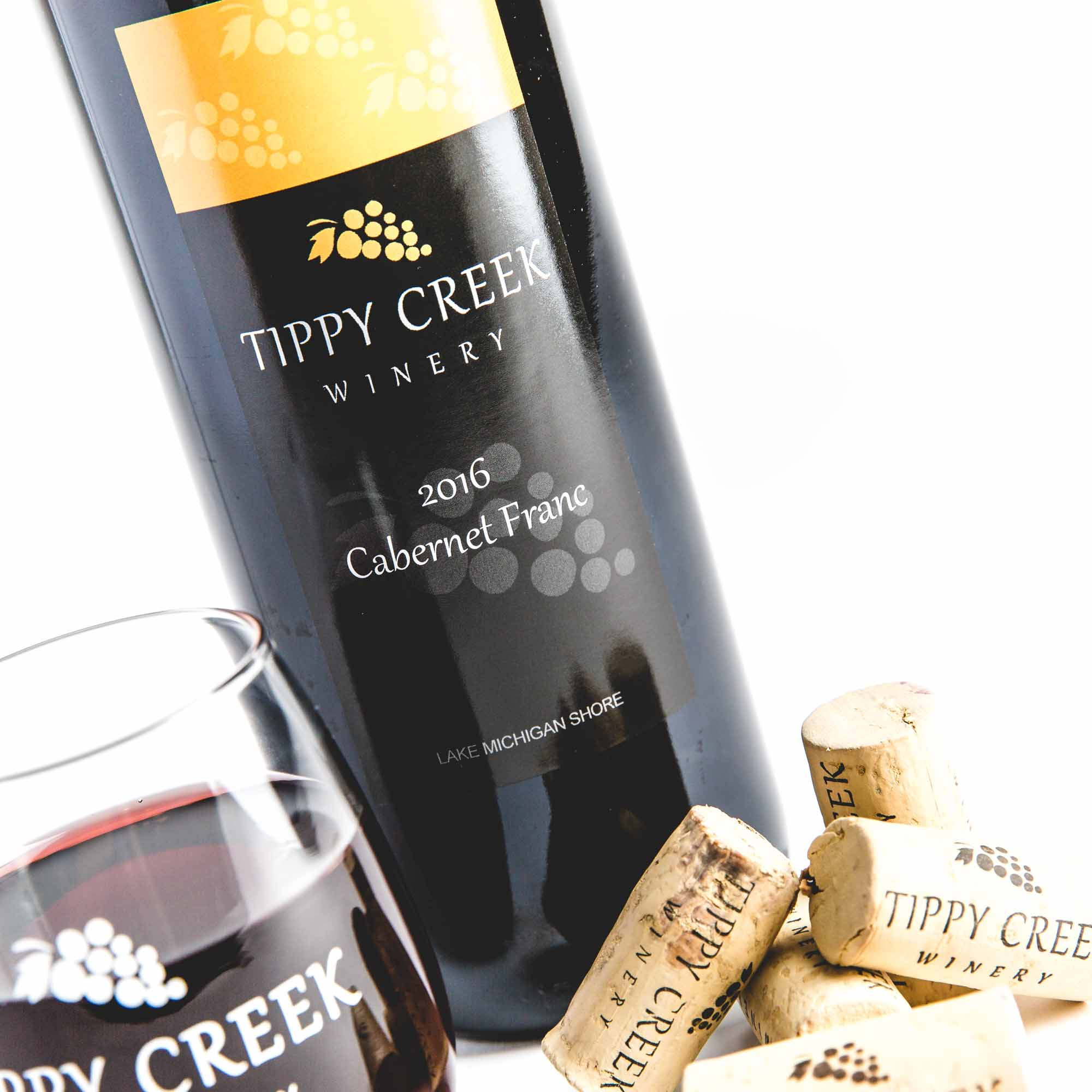 Cabernet Franc Red Wine Tippy Creek Winery