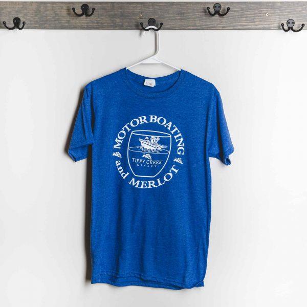 Motor Boating Merlot T-Shirt