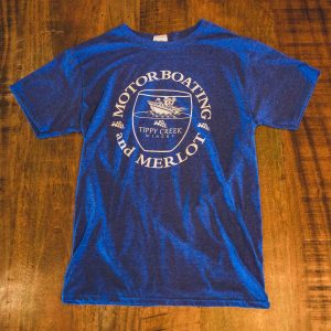 Motor Boating Merlot T-Shirt