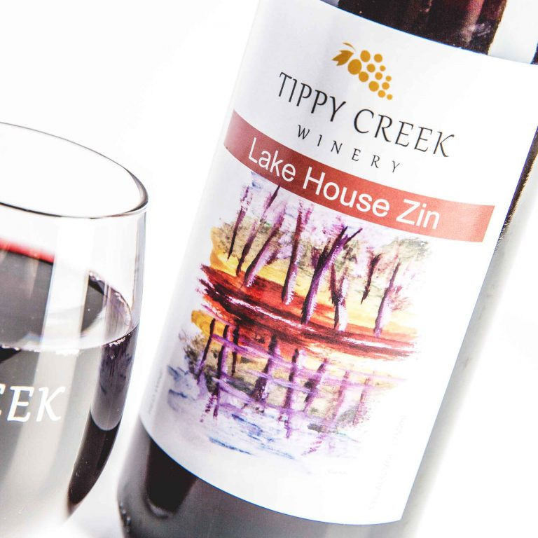 Lake House Zin. Red Wine from Tippy Creek Wine.