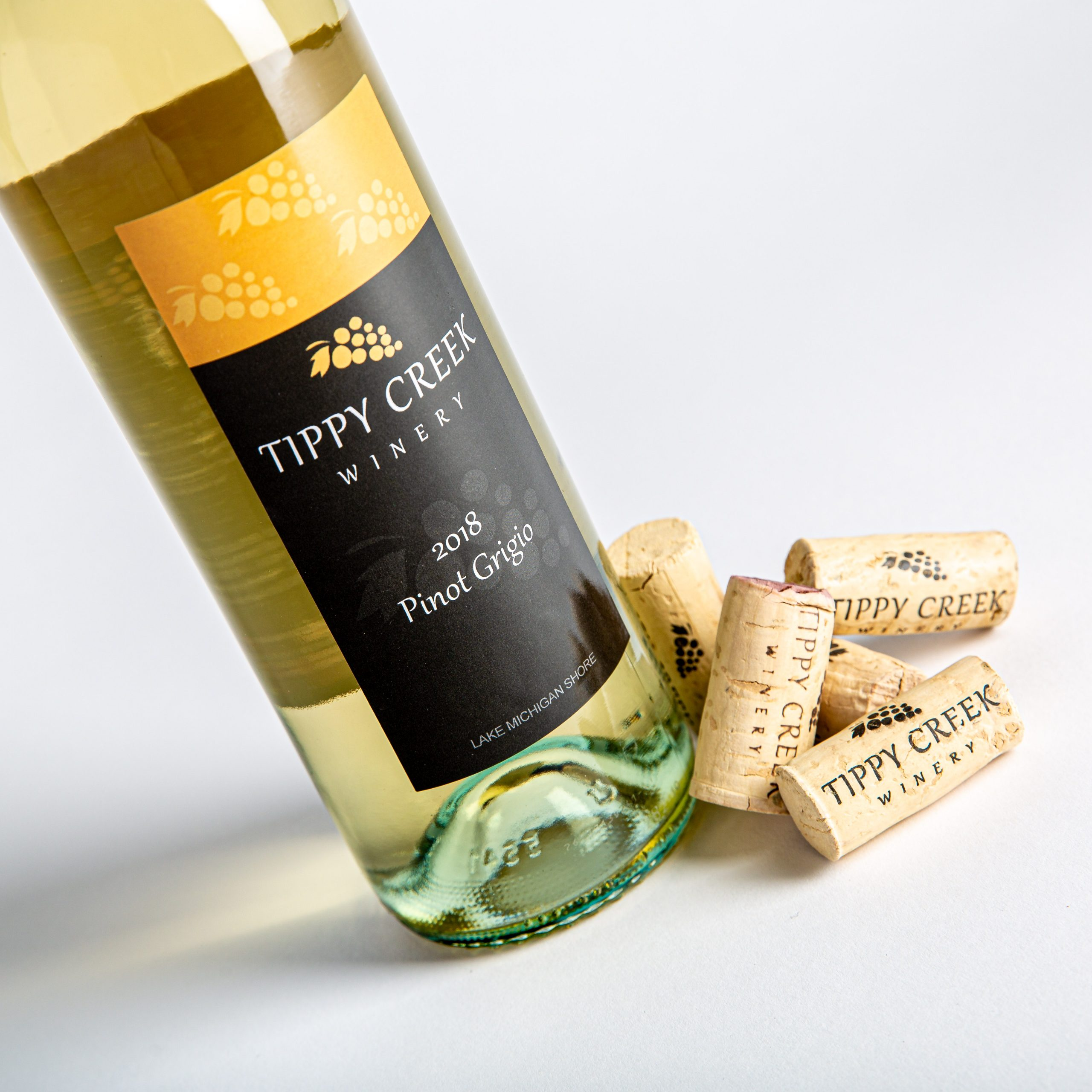 Pinot Grigio Wine by Tippy Creek Winery