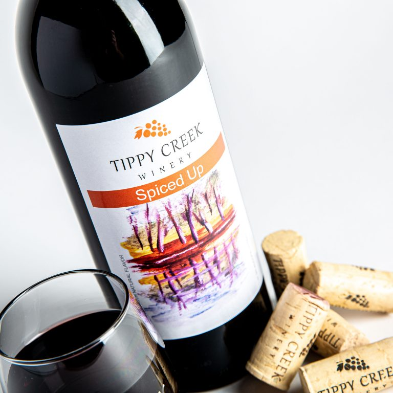 Spiced Up Wine by Tippy Creek Winery