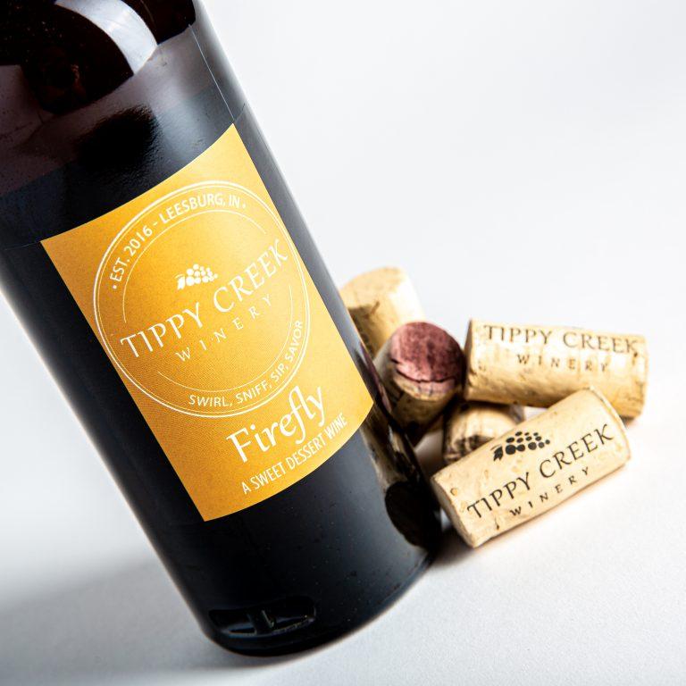 Fire Fly Dessert Wine Tippy Creek Winery