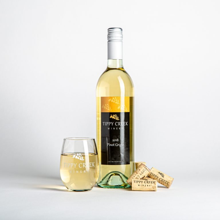 Pinot Grigio 2018 from Tippy Creek Winery