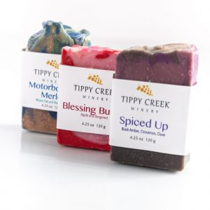 Soap by Tippy Creek Winery