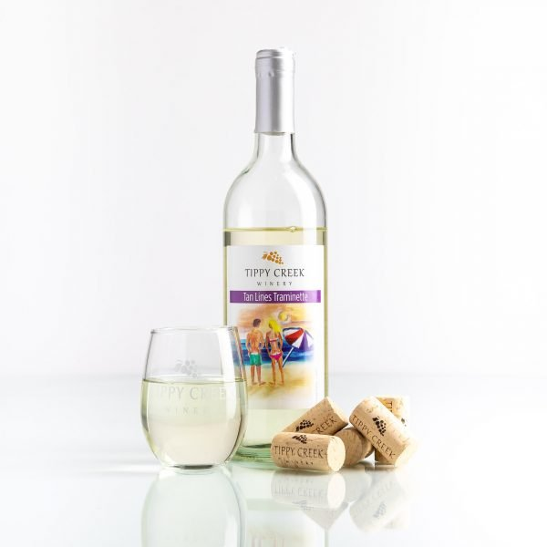 Tan Lines Traminette by Tippy Creek Winery